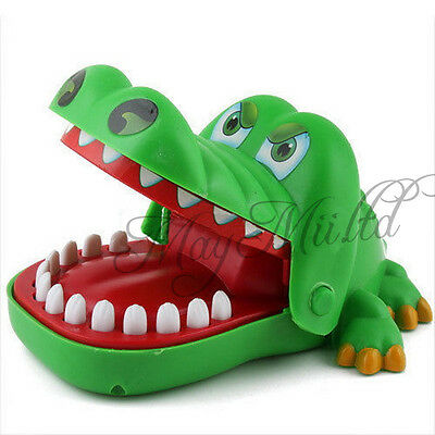 New Crocodile Mouth Dentist Bite Finger Game Funny Toy HOT