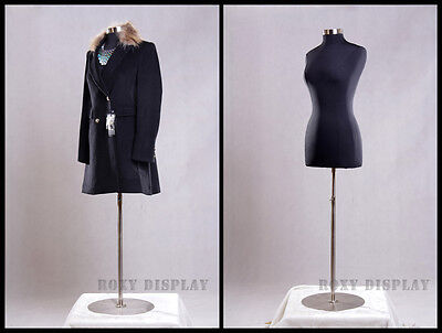 Female Size 10-12 Mannequin Manequin Manikin Dress Form #F10/12BK+BS-04