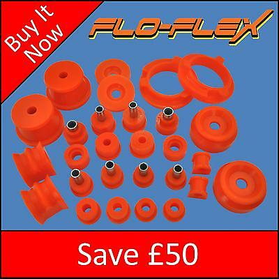 Ford Sierra Cosworth Front & Rear Suspension Bushes in Poly - Save £50