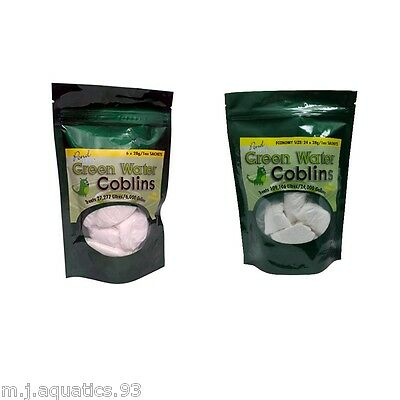 POND GREEN WATER GOBLINS (Treats Thousands of Gallons Easy & effective to use