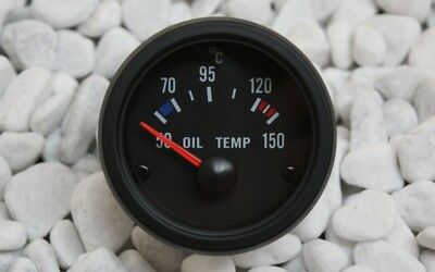 ÖLTEMPERATUR Anzeige 52mm Retro Look Geber Messer 16V G60 G40 VR6 TURBO S2 GT