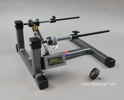 Wire spool holder  with Digital Line Counter