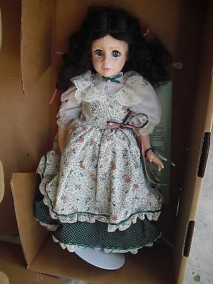 "Beautiful Robin Woods Beth from Little Women Girl Doll 14"" Tall in Box"