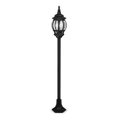 Traditional Black IP44 Outdoor Garden Outside Lantern Light Lamp Post Lights NEW