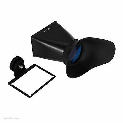 "V6 LCD 2.8X 3"" LCD viewfinder magnifer extender for Canon Eos M EosM"
