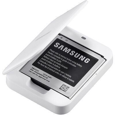Samsung EB-K740AEWEG Spare Battery & Charger Kit for Galaxy S4 Zoom SM-C101