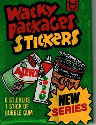 1970's Wacky Package Series 4 Trading Sticker Pack