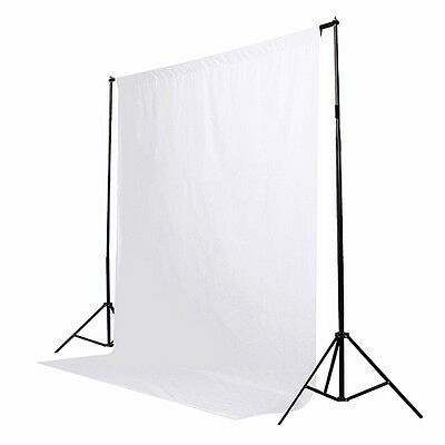 6 x 9ft White Screen Muslin Photo Studio Photography Backdrop Background NEW