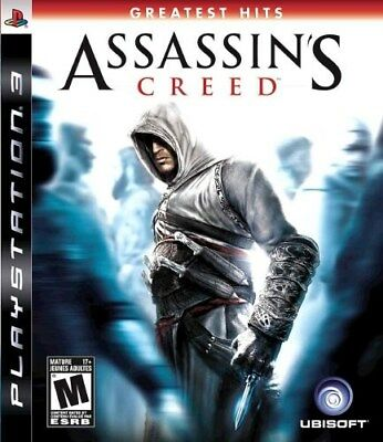 Playstation 3 Ps3 Game Assassin's Creed  Brand New