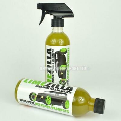 LimeZilla Amazing Tar and Oil Remover Wise Guyz Detailing 500ml Car Auto Care