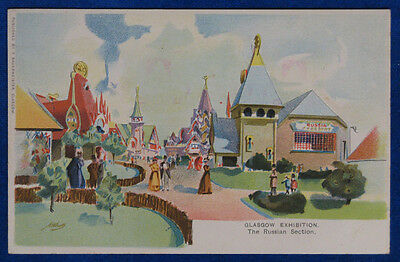 "GLASGOW EXHIBITION The Russian Section illustrata no viaggiata ""900 f/p #21658"