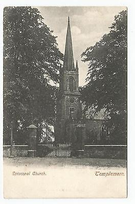 irish postcard ireland tipperary episcopical church templemore