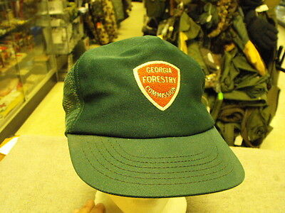 Georgia Forestry Commission Base Ball Cap, Older Style,