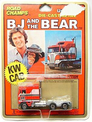 RC ROAD CHAMPS  BJ and the BEAR KENWORTH TRUCK CAB - NRMIP - 1981 - RARE