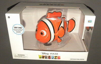 Disney Pixar Interaction Nemo Finding Nemo Interactive Talking Figure Doll w SFX