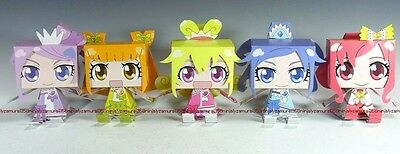 Pretty Cure PreCure paper doll figure set official anime