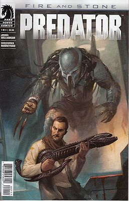 Predator: Fire And Stone #1. Reg Cover (Dark Horse Comics) Boarded. Free Uk P+P