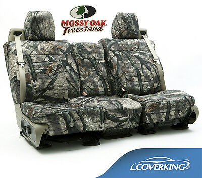 NEW Full Printed Mossy Oak Treestand Camo Camouflage Seat Covers / 5102031-25