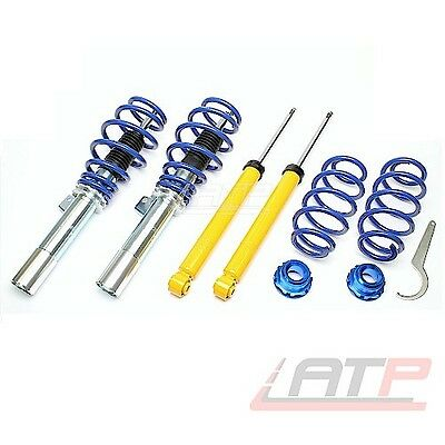 Coilover Kit Adjustable Suspension Front + Rear Audi A3 8P 1.2-3.2 Rs3 S3 2003-