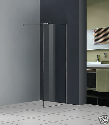 1000x1850mm Shower Enclosure Walk In Wet Room Cubicle Screen 8mm Glass Panel V8