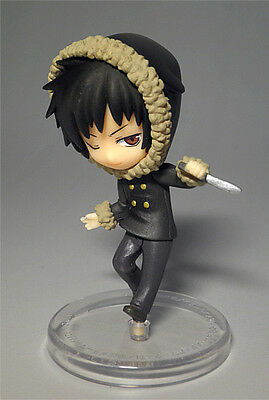 PROMO MINI FIGURE DURARARA!! Izaya Orihara 2.4IN ANIME Boy BRAND-NEW