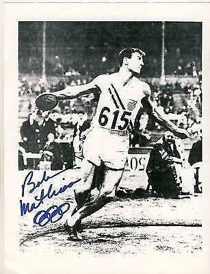 Bob Mathias TOP GF Orig Sign. +G 2164
