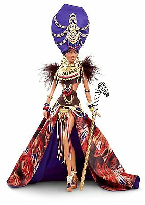 Barbie Doll Tan Tribal Beauty Gold Label Global Glamour Collection X8262 BNIB