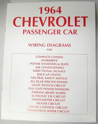 impala tail light wiring diagram image 1958 chevy passenger car shop manual 58 chevrolet new u2022 32 95 on 64 impala tail