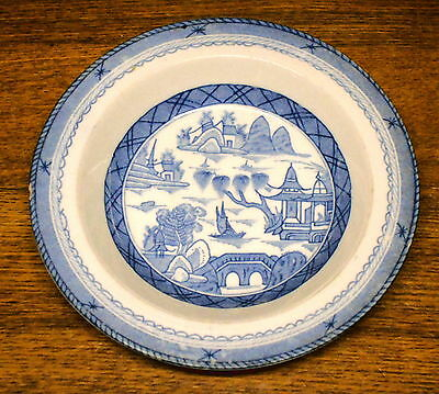 Rimmed Soup Bowl - Woods Ware Woods & Sons England - Canton - Chips