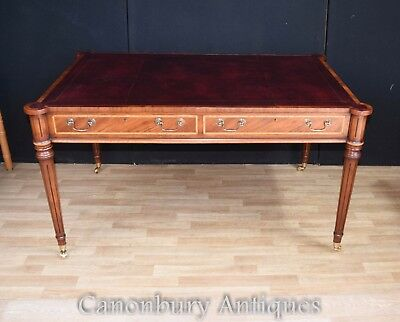 Mahogany Regency Gillows Desk Writing Table Furniture