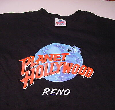 PLANET HOLLYWOOD Reno Nevada (EXTRA LARGE) T-shirt