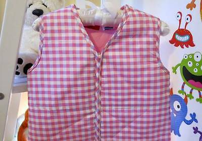 COZY TOUCH Baby Sleeping Bag 0.9 TOG RED & PURPLE CHECK 18-36 MONTHS