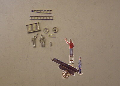 P&D Marsh N Gauge n Scale C25 Window cleaner set kit requires painting