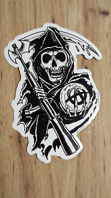New Sons Of Anarchy Fear The Reaper On Harley Sticker Biker Samcro FX Channel