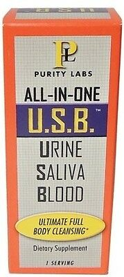 Purity Labs All In One U.S.B. Urine Blood Saliva Full Body Cleansing Detox Clean