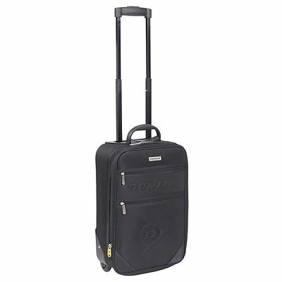 Dunlop Travel Luggage Lightweight Wheeled Holdall Carryall Trolley Suitcase New