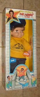 """VINTAGE 1985 BILL COSBY'S FAT ALBERT AND THE COSBY KIDS DOLL """"GREG"""" MIB"""