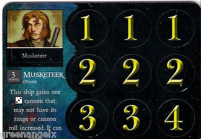 Pirates Of Davy Jones Curse - 116 Pirate Musketeer