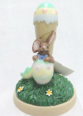 Brown Bag Cookie Stamp Press Easter Egg Bunny with Recipe Booklet 1997
