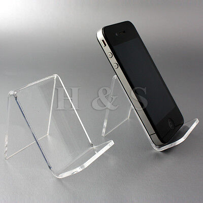 Top Quality Acrylic Mobile Phone Stand Holder Retail Shop Display Ipod Camera -A