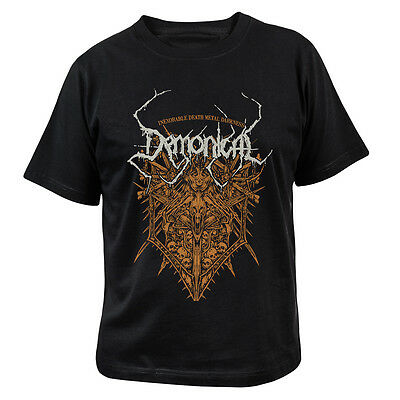 DEMONICAL - Inexorable Death Metal Darkness - T-Shirt