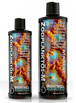 BRIGHTWELL ZOOPLANKTOS- M For feeding marine corals and reef aquariums