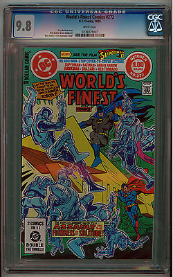 World's Finest #272 Cgc 9.8 White Pages Bronze Age