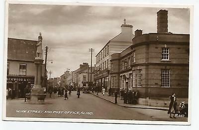 irish postcard ireland sligo post office