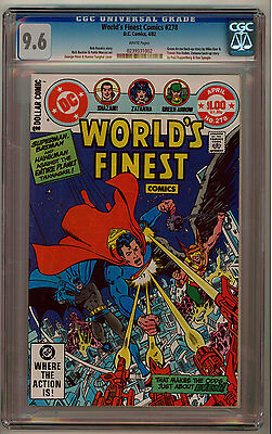 World's Finest #278 Cgc 9.6 White Pages Bronze Age