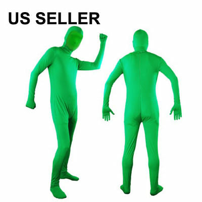 Lusana Studio Chromakey Green Screen Body Suit Video Effect Muslin CS01