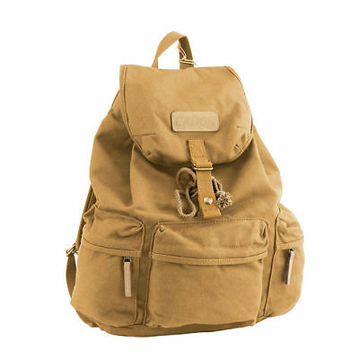 DSLR Camera Vintage Canvas Backpack Rucksack Bag Case For Canon EOS Nikon Sony