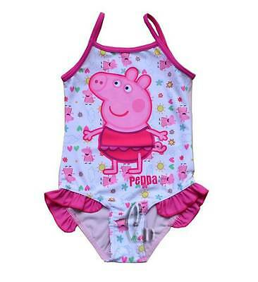 Girls Kids Peppa pig Swimwear One Piece Swimsuit SZ 2-6Y AU SELLER gs007