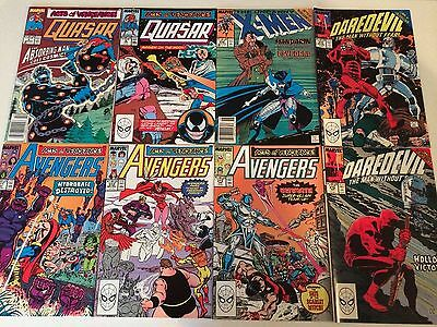Acts of Vengeance lot of 33 crossover issues Thor 412 Spider-Man 328 Loki Doom