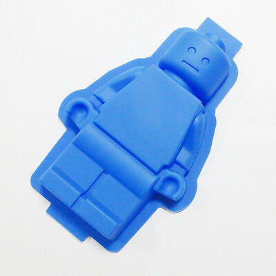 Large 9.5 inch Lego Man Style Cake Mold Chocolate Mold Jello Mold Candy Gift DIY